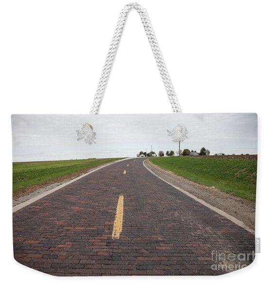 The Old Road Weekender Tote Bag