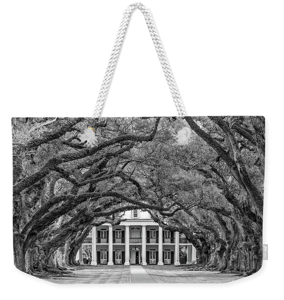 The Old South Bw Weekender Tote Bag