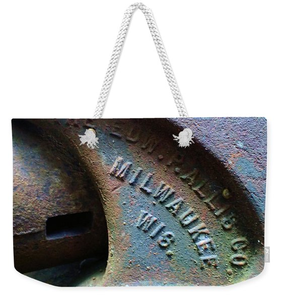 The Old Stamp Mill- Findley Mine Weekender Tote Bag