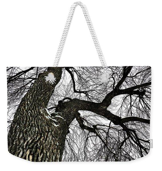 The Old Tree Weekender Tote Bag