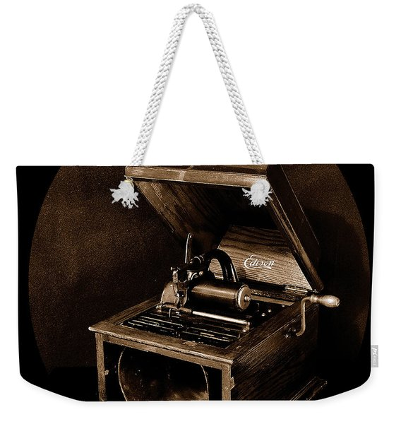 The Old Victrola Weekender Tote Bag