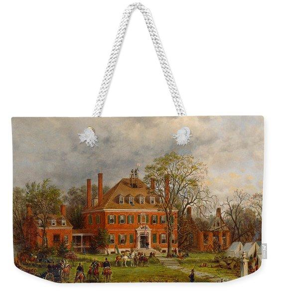 The Old Westover House Weekender Tote Bag