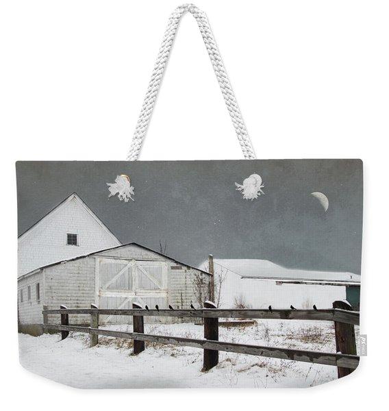 The Old White Barn Weekender Tote Bag