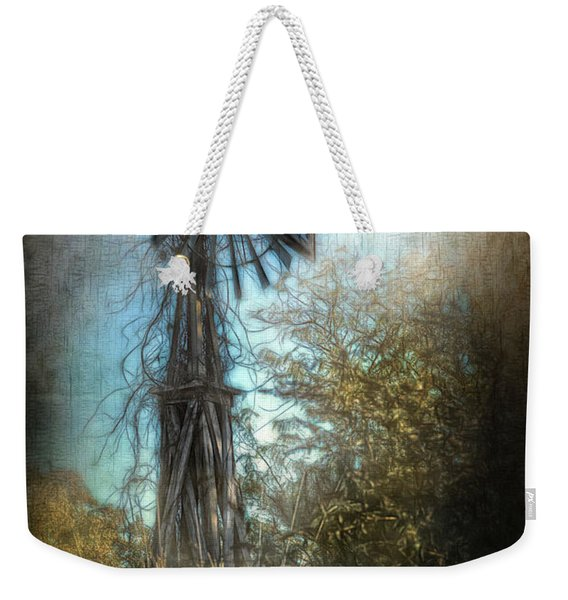 The Old Windmill Weekender Tote Bag
