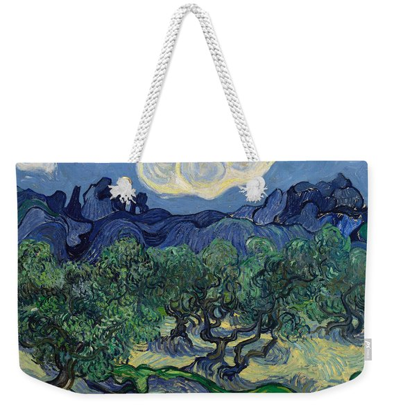 The Olive Trees Weekender Tote Bag