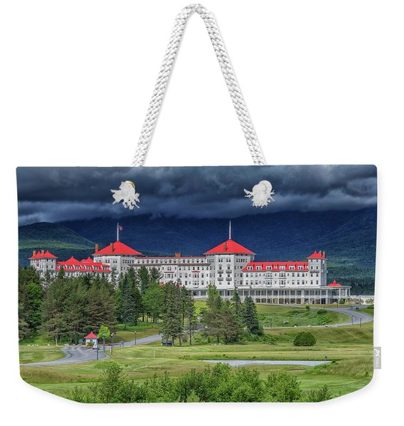 The Omni Mount Washington Resort 3 Weekender Tote Bag