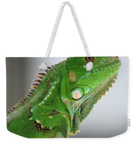 The Omnivorous Lizard Weekender Tote Bag