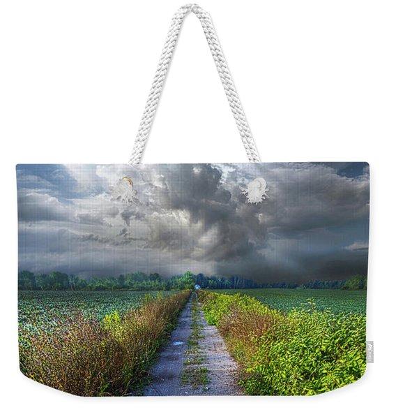 The Only Way In Weekender Tote Bag