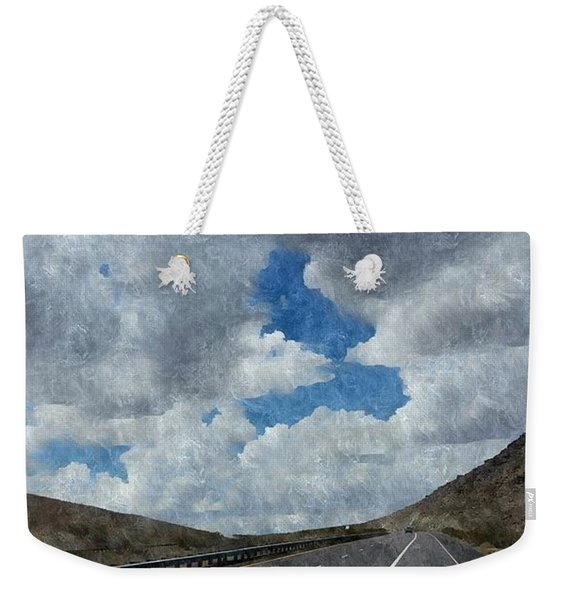 The Open Road Weekender Tote Bag