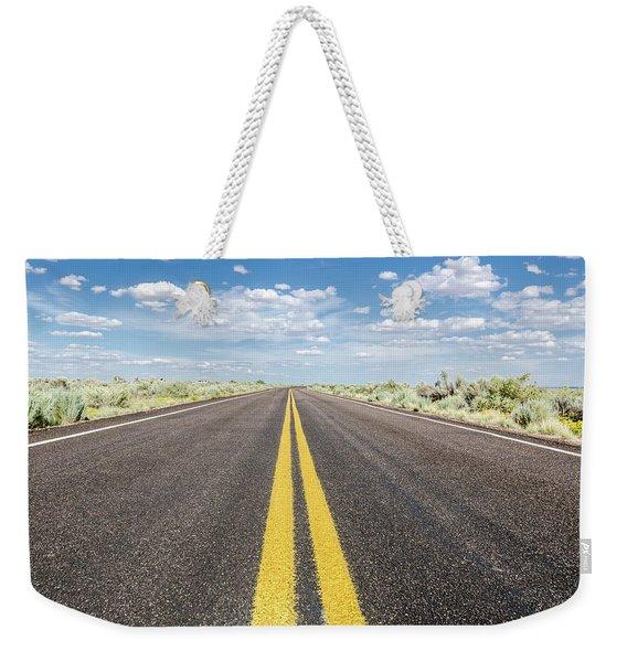 The Open Road Weekender Tote Bag