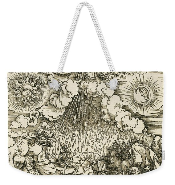 The Opening Of The Sixth Seal  Weekender Tote Bag