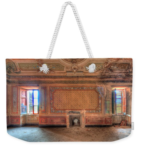 The Orange Room Of The Villa With The Colored Rooms Weekender Tote Bag