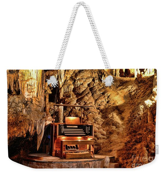 The Organ In Luray Caverns Weekender Tote Bag