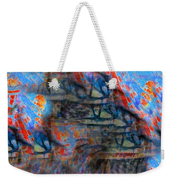 The Origins Of The Nabu  Weekender Tote Bag