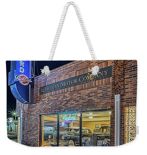 The Orphan Motor Company Weekender Tote Bag