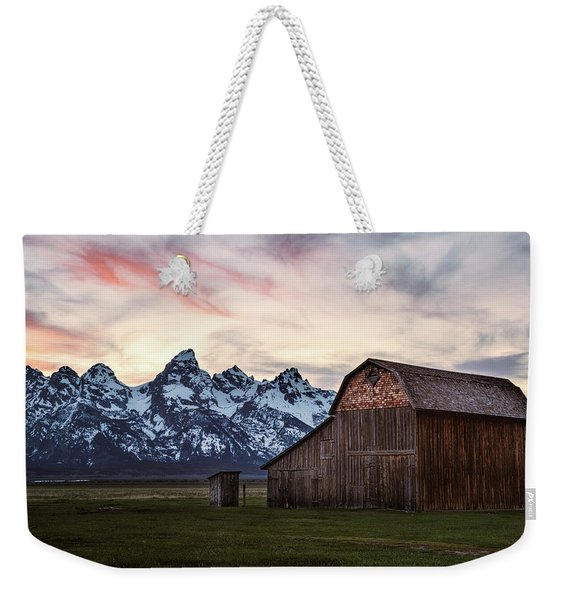 The Other Moulton Barn Weekender Tote Bag