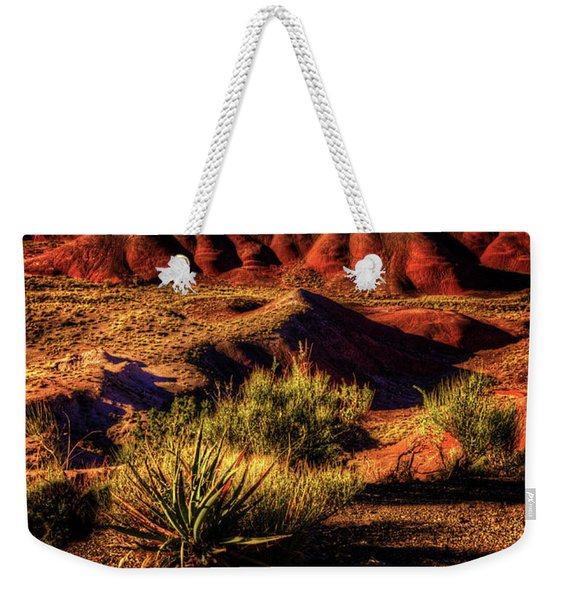 The Painted Desert From Kachina Point Weekender Tote Bag