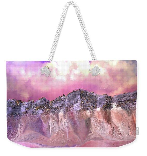 The Painted Sand Rocks Weekender Tote Bag