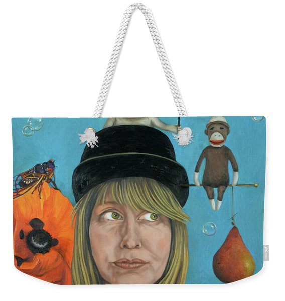 The Painting Maniac Weekender Tote Bag