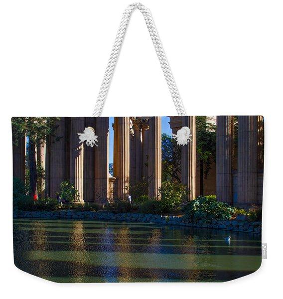 The Palace Pond Weekender Tote Bag