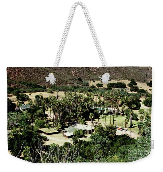 The Paraiso Hot Springs ,soleded ,california Soledad, California1998 Weekender Tote Bag