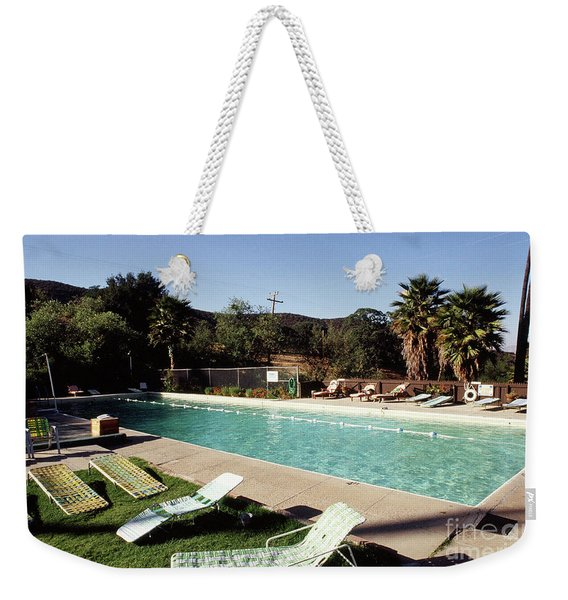 The Paraiso Hot Springs, Soledad ,california Photo By Pat Hathaway Weekender Tote Bag