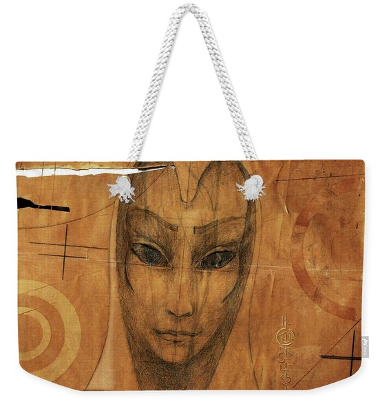 The Parchment Enigma Weekender Tote Bag