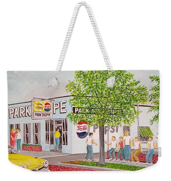 The Park Shoppe Portsmouth Ohio Weekender Tote Bag