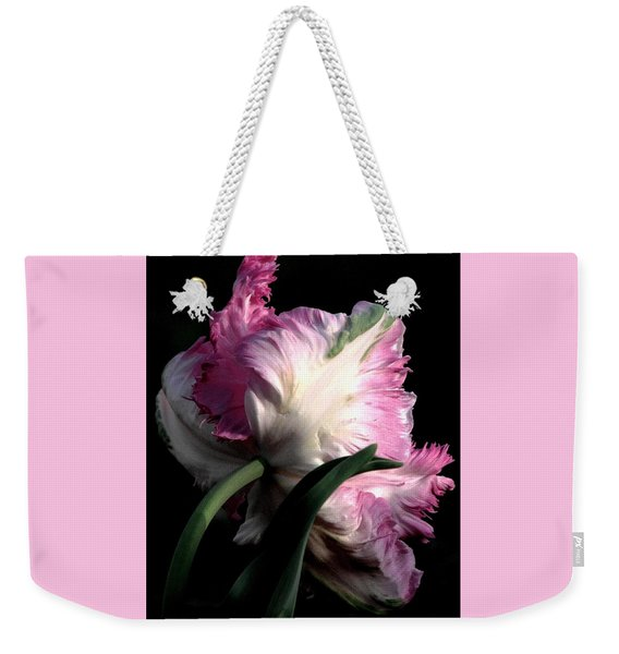 The Parrot Tulip Queen Of Spring Weekender Tote Bag