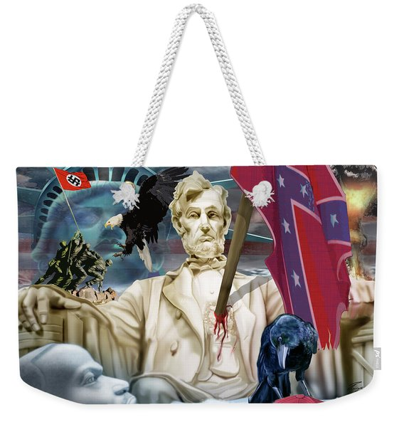 The Party Of Lincoln Days At An End Weekender Tote Bag