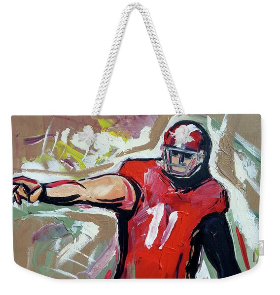 The Pass Weekender Tote Bag