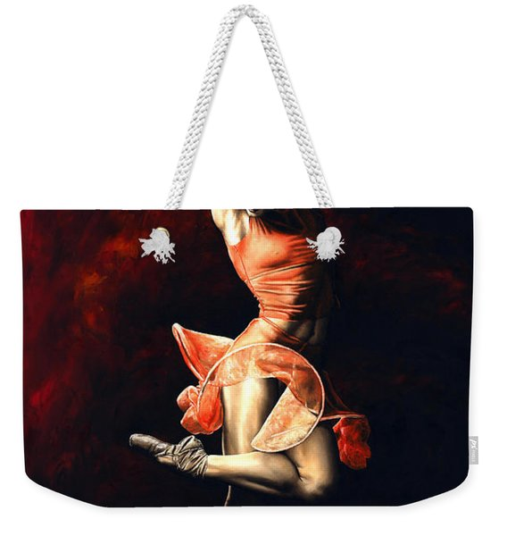 The Passion Of Dance Weekender Tote Bag