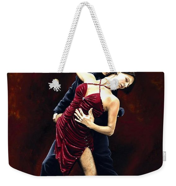 The Passion Of Tango Weekender Tote Bag