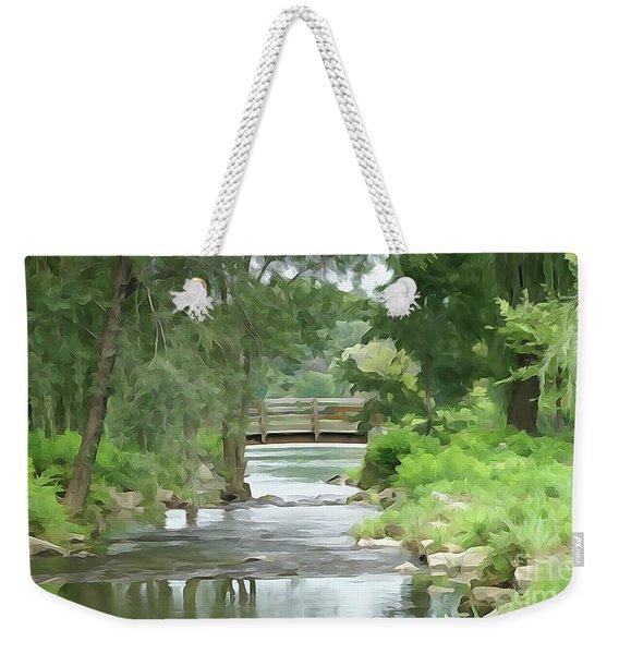 The Pasture's Bridge Weekender Tote Bag