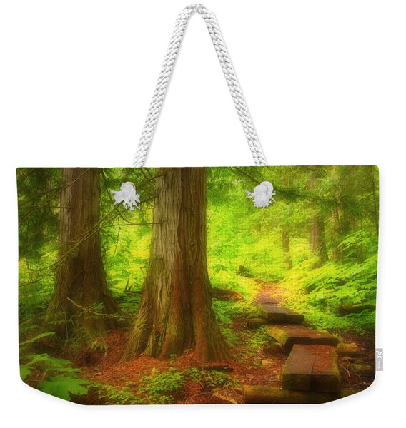 The Path Through The Forest Weekender Tote Bag