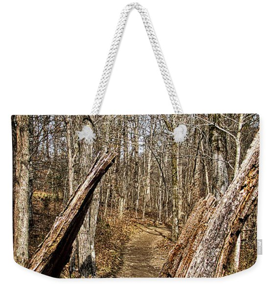 The Path Through The Woods Weekender Tote Bag