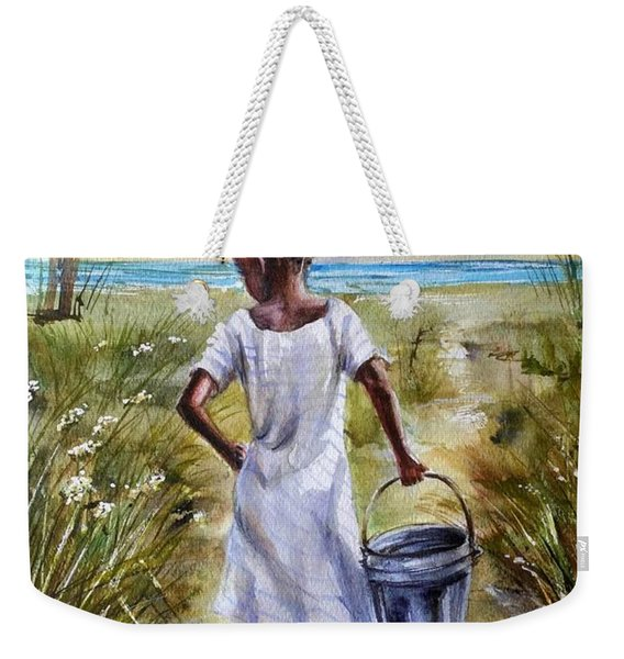 The Path To The Sea Weekender Tote Bag