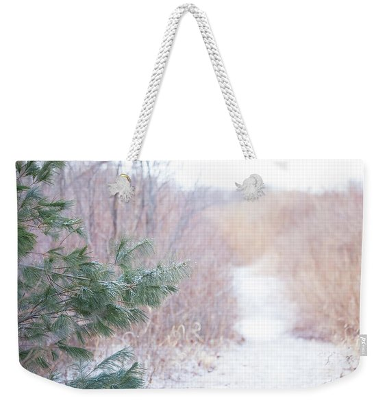 The Path Untraveled  Weekender Tote Bag