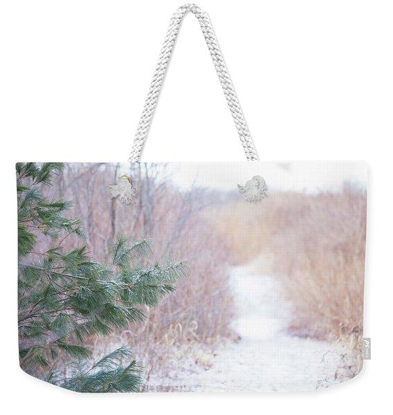 The Path Untraveled  Weekender Tote Bag