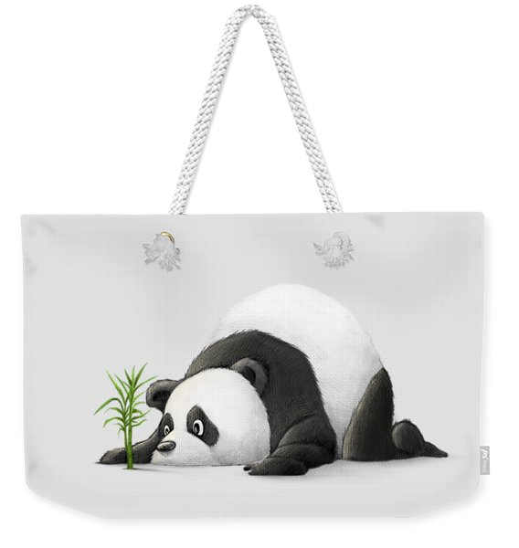 The Patient Panda Weekender Tote Bag
