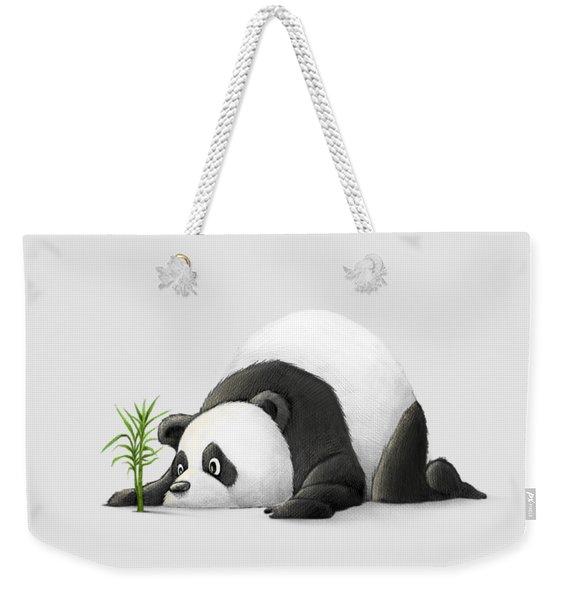 The Patient Panda Weekender Tote Bag