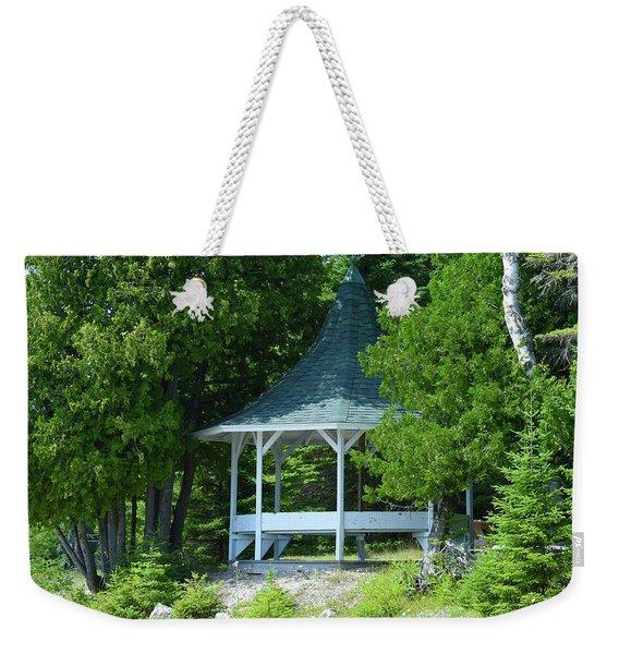The Pavillion Weekender Tote Bag