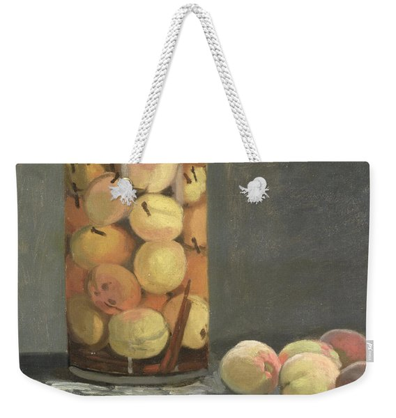 The Peach Glass Weekender Tote Bag