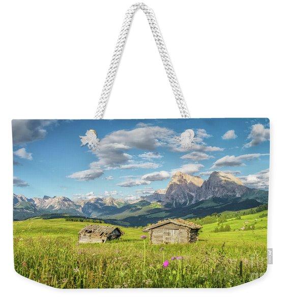 The Pearl Of South Tyrol Weekender Tote Bag