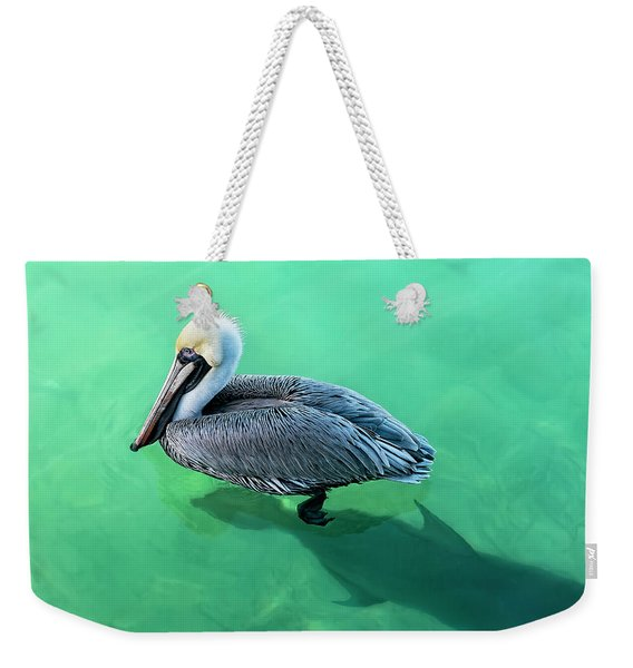 The Pelican And The Shark Weekender Tote Bag