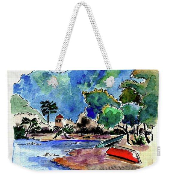 The Peloponnese Weekender Tote Bag