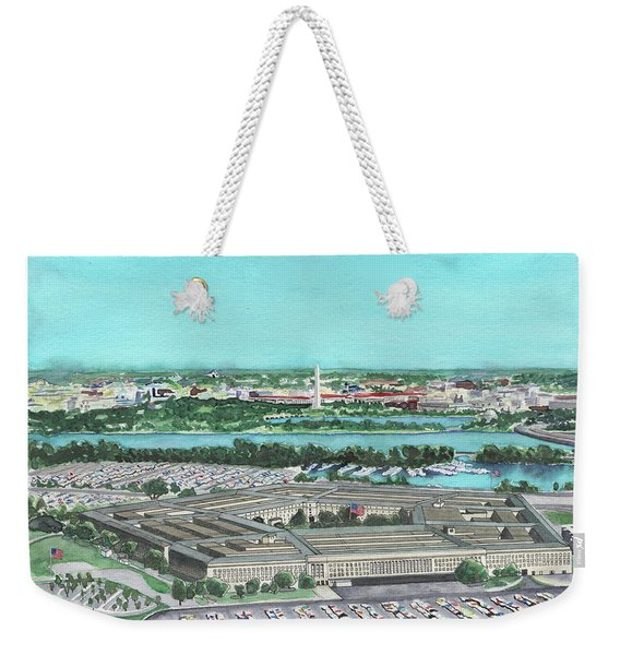The Pentagon Weekender Tote Bag