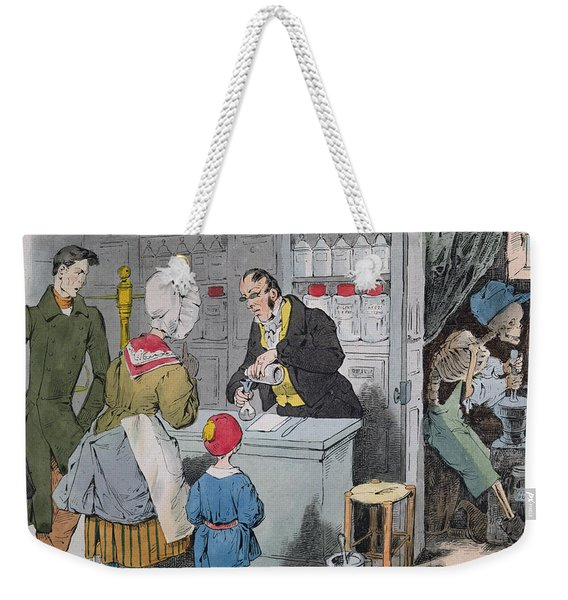 The Pharmacist And His Assistant Weekender Tote Bag