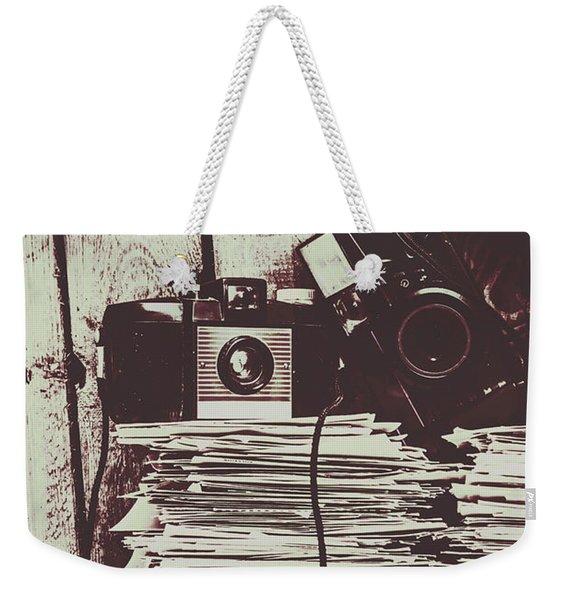 The Photo Room Weekender Tote Bag