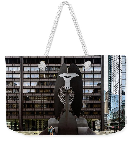 The Picasso Weekender Tote Bag
